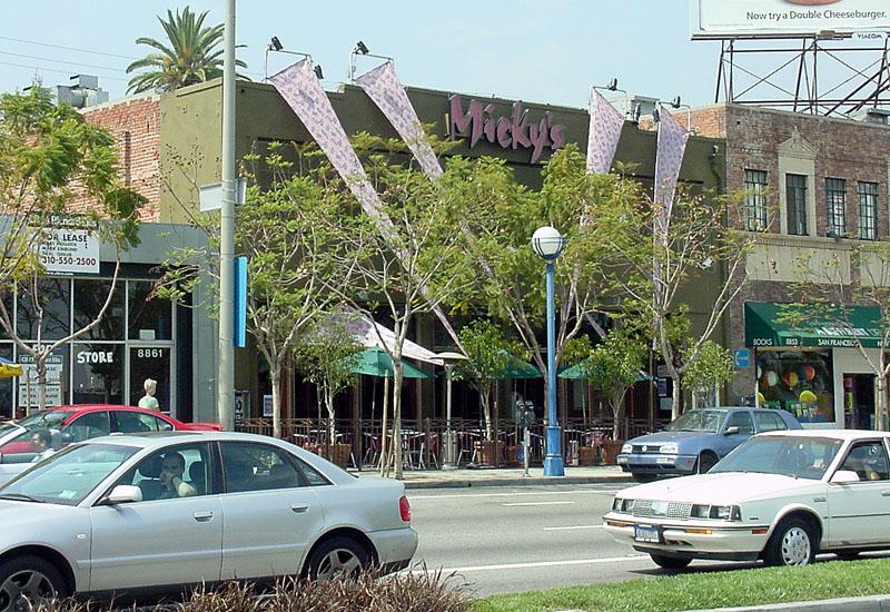 Santa Monica tempo gay